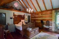 Wonderful upper level bedroom, two nice closets