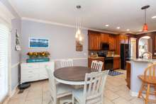 Eat In kitchen just off the living room