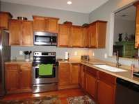 ....And a comfortable eat-in kitchen