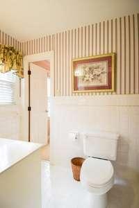Nice full bath between bedroom #2 and #3