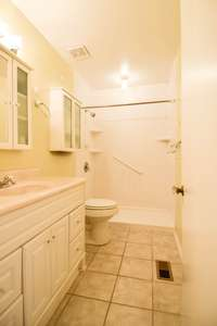 Nice full bath with large shower
