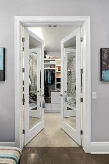 She will enjoy this custom designed closet to suit her every need