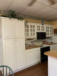 Another view of Kitchen area.