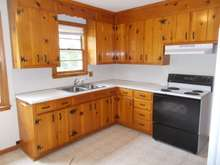 Eat in Kitchen,  SORRY no dishwasher, tons of cabinets