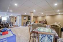Spacious basement for multifamily living