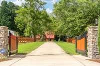 Custom gated entrance