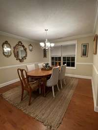 formal dining room view #3