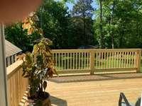 New rear deck