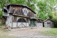 Grand barn moved from Jasper, Indiana