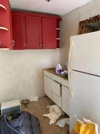 fridge no longer there