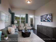 Photo is not of the actual home, but is an inspirational photo of builder's model home and may depict options, furnishings, and/or decorator features that are not included
