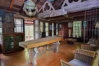 Amazing flooring, windows, fine antique