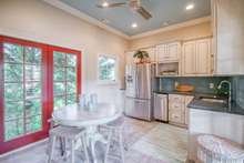 Fully equipped Pool House with kitchen and full bath with shower