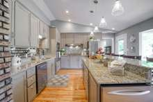 Granite and Kitchenaid appliances for great meal preparation