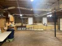 Shop area in Garage