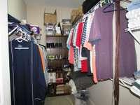 A fantastic walk-in closet...
