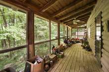 Beautiful views from the screened-in porch