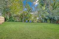 Lush and green ... this property backs up to the prestigious College Street .