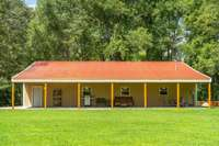 60'x40' detached garage with large lean-to