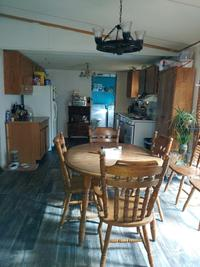 Dinning and kitchen taken a couple months ago
