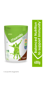 Maxvida® -  Balanced Nutrition Supplement for Adults - 400g Chocolate (Tub)