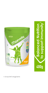 Maxvida® -  Balanced Nutrition Supplement for Adults - 400g Mango (Tub)