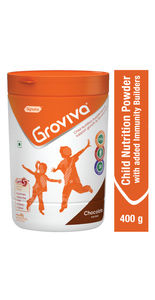 Groviva® - Child Nutrition Supplement - 400g Chocolate (Tub)
