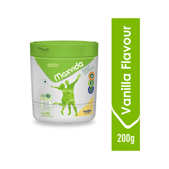 Maxvida® -  Balanced Nutrition Supplement for Adults - 200g Vanilla (Tub)