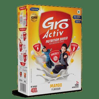 GroActiv™ - Nutirition Shield for Growing Child - 400g Mango
