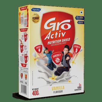 GroActiv™ - Nutirition Shield for Growing Child - 400g Vanilla