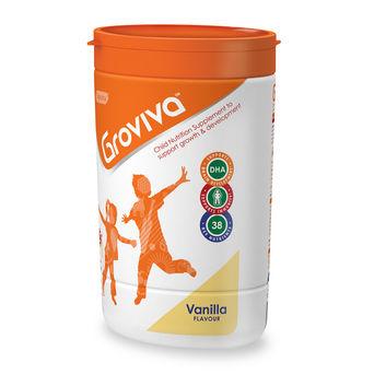 Groviva® - Child Nutrition Supplement - 400g Vanilla (Tub)