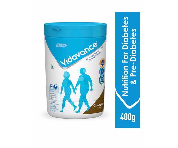 Vidavance® - Advanced Nutrition for Diabetes and Pre Diabetes - 400g Chocolate (Tub)
