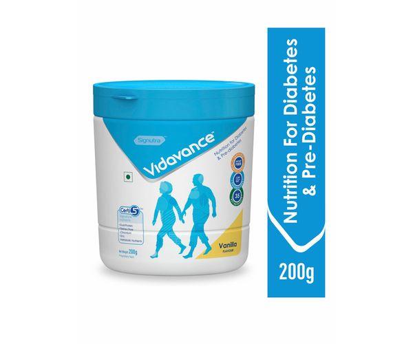 Vidavance® - Advanced Nutrition for Diabetes and Pre Diabetes - 200g Vanilla (Tub)