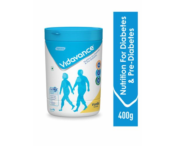 Vidavance® - Advanced Nutrition for Diabetes and Pre Diabetes - 400g Vanilla (Tub)