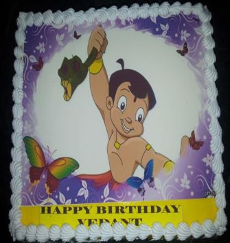 1 KG Chhota Bheem Cake