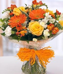 12 Mix Seasonal Flowers Bunch
