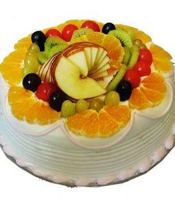 2 KG Fresh Fruit Cake