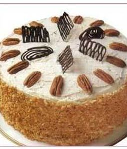500 Gms Butterscotch Cake
