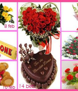 7 Days Valentine's Day Gifts