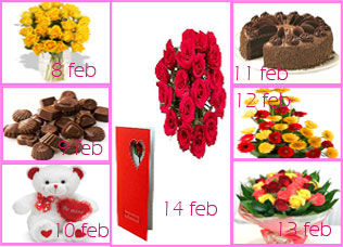 8th Feb to 14th Feb Gifts