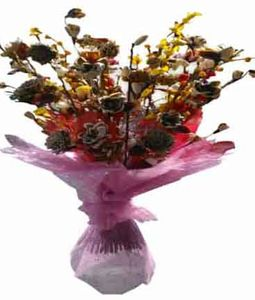 Dry (Artificial) Flowers Bouquet