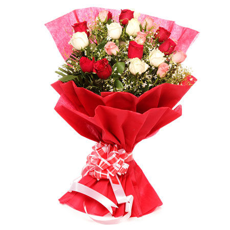 20 Mix Roses Bunch