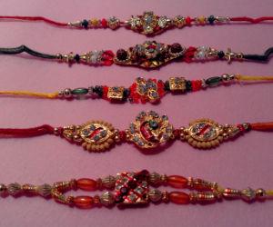 Set of 5 Rakhis C1883
