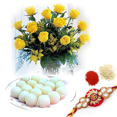 Sweet Rakhi Combo C1725