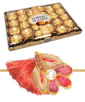 Rakhi Pack with 24 Pcs Ferrero C1721