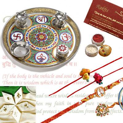 Rakhi Thali Pack C1117