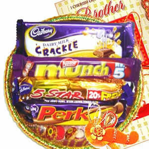 Rakhi Chocolate Hamper C1076