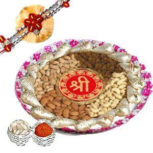 Rakhi Thali Pack C1058