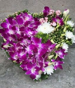 Orchids Heart
