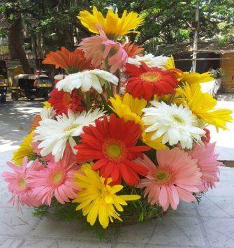flowers basket delhi